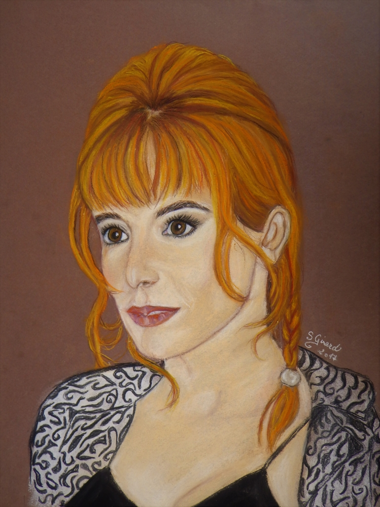 Mylène Farmer by Sybartiste